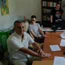 Local Youth Initiatives - Contract signed with awarded beneficiaries from Niksic