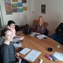 First meeting of the local youth advisory group from Mostar