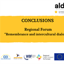 "Conclusions of regional forum ""Remembrance and intercultural dialogue"""