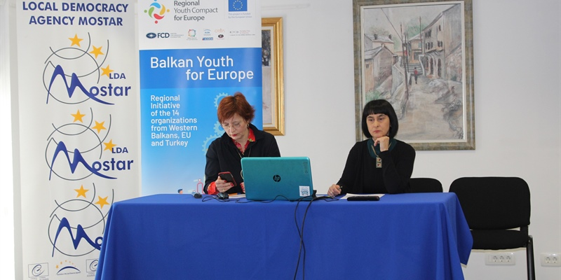 The international workshop in Mostar has officialy started