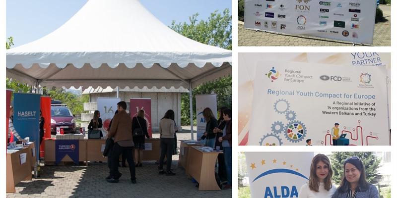Youth Compact presented at Career Fair in Skopje